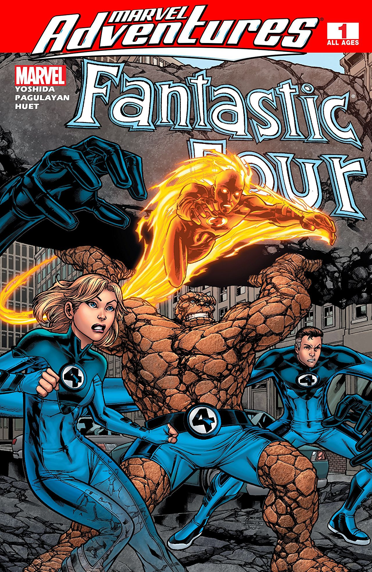 Marvel Adventures: Fantastic Four Vol 1 1