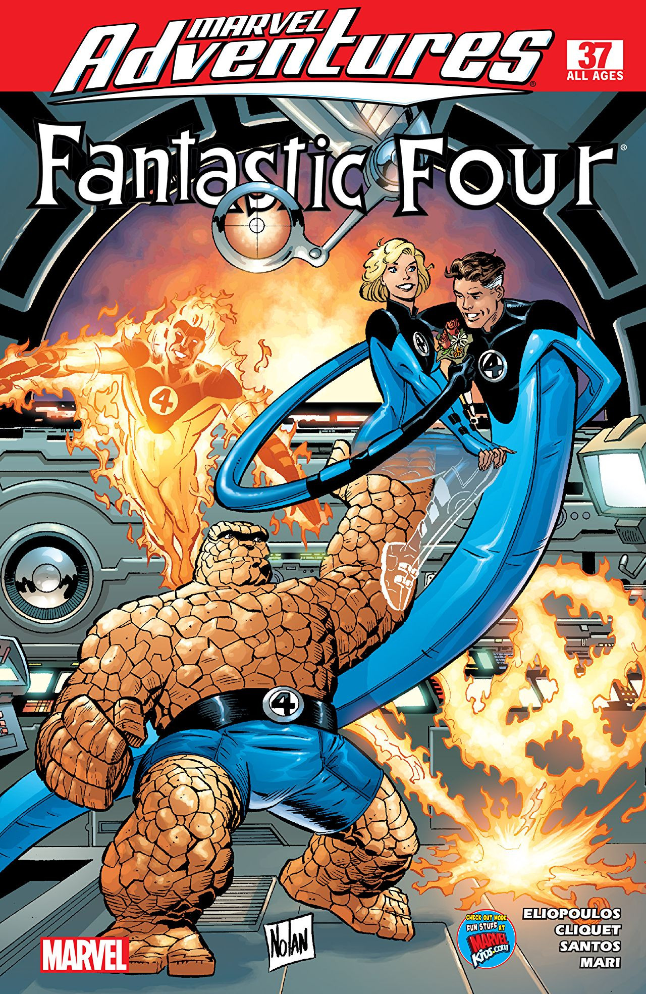 Marvel Adventures: Fantastic Four Vol 1 37