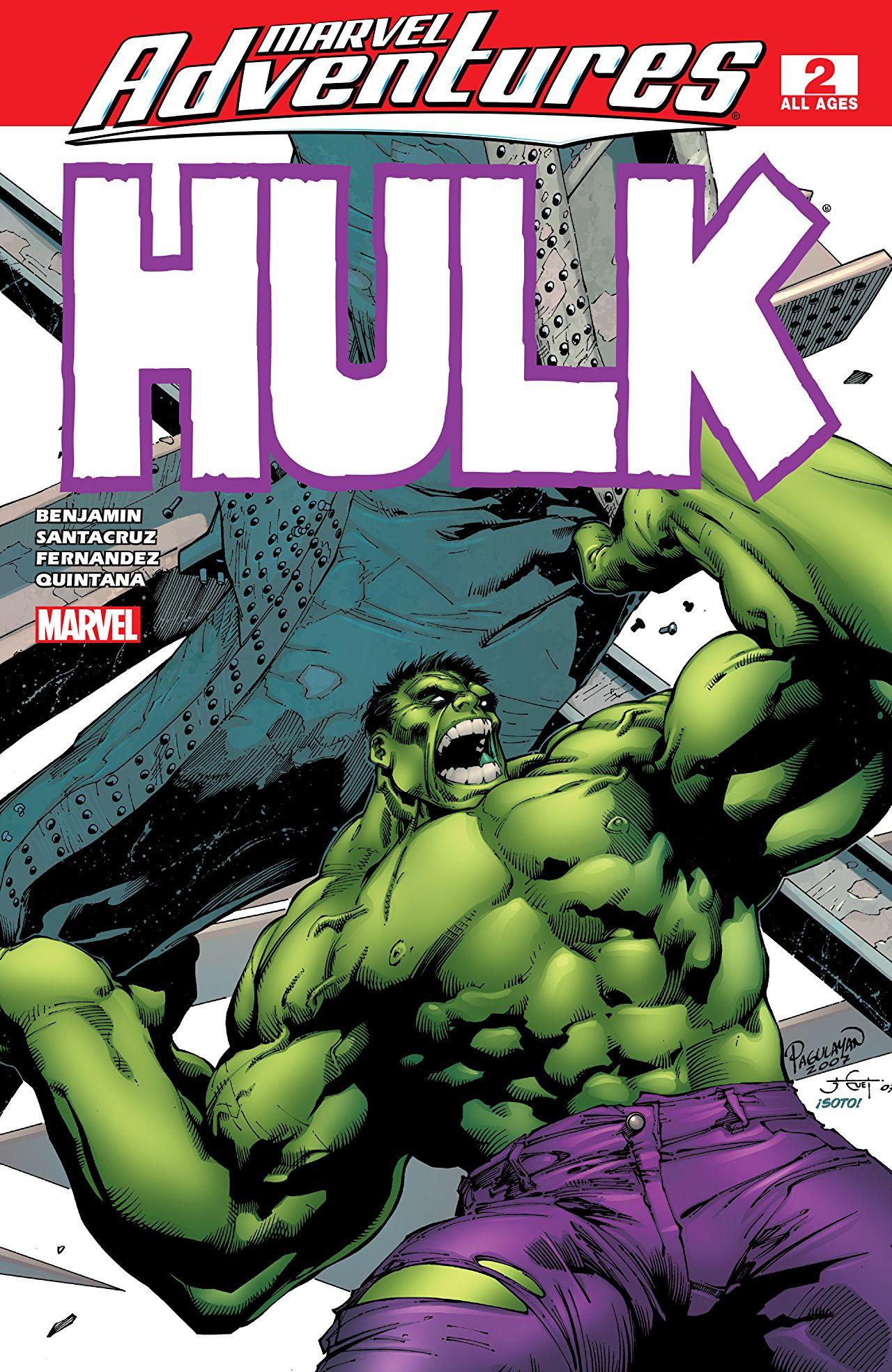 Marvel Adventures: Hulk Vol 1 2