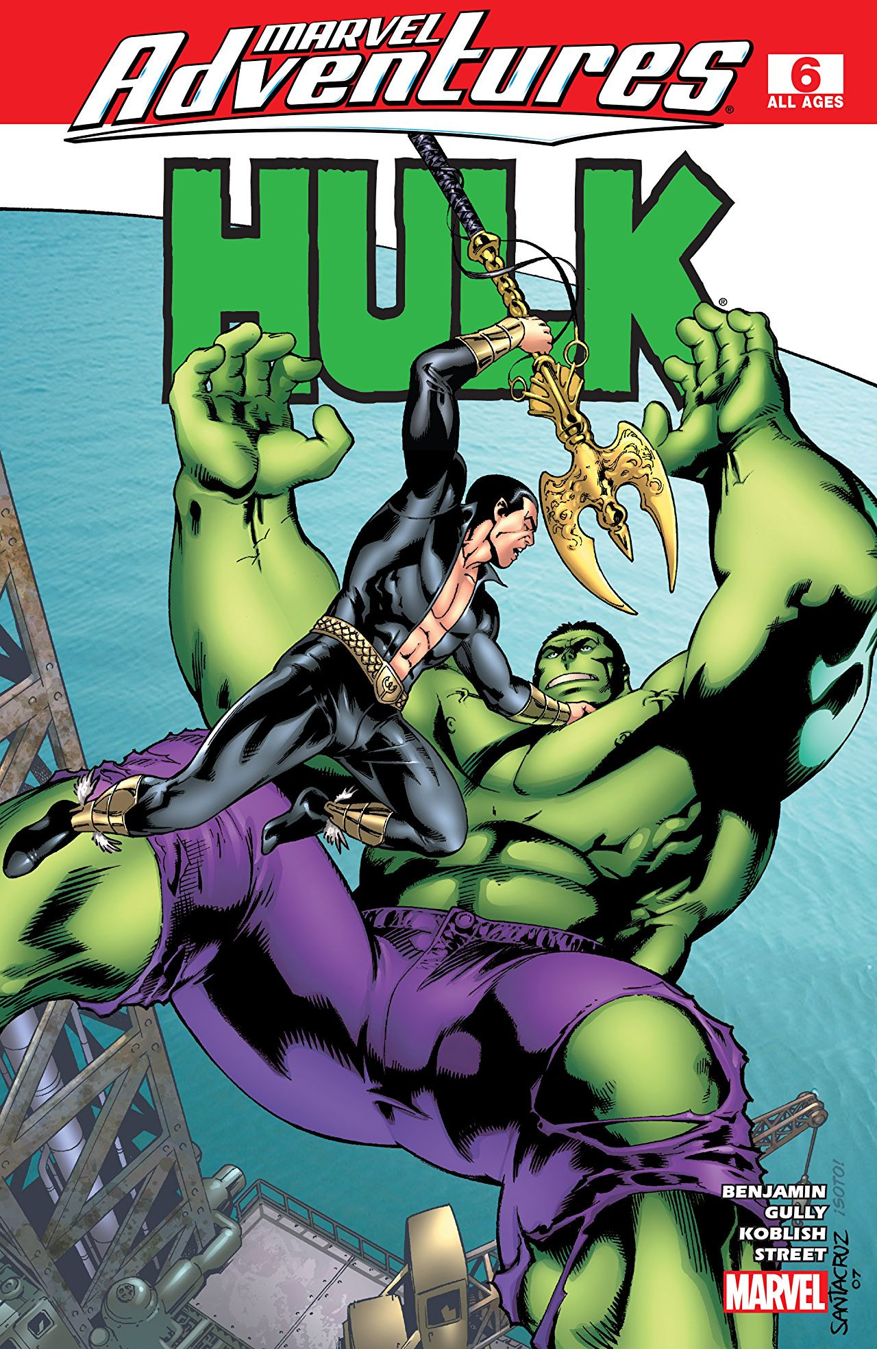 Marvel Adventures: Hulk Vol 1 6