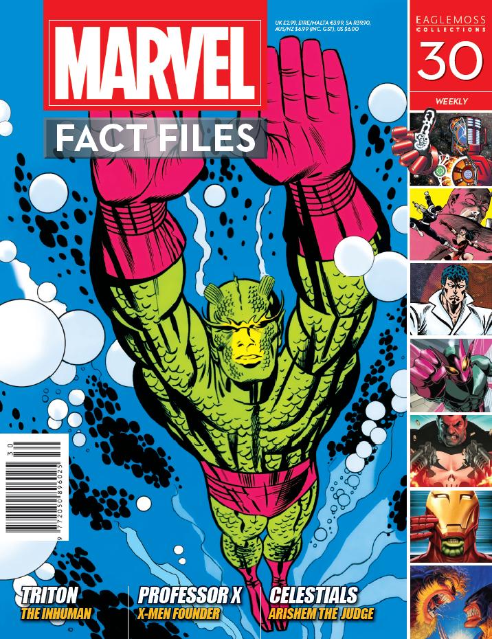 Marvel Fact Files Vol 1 30