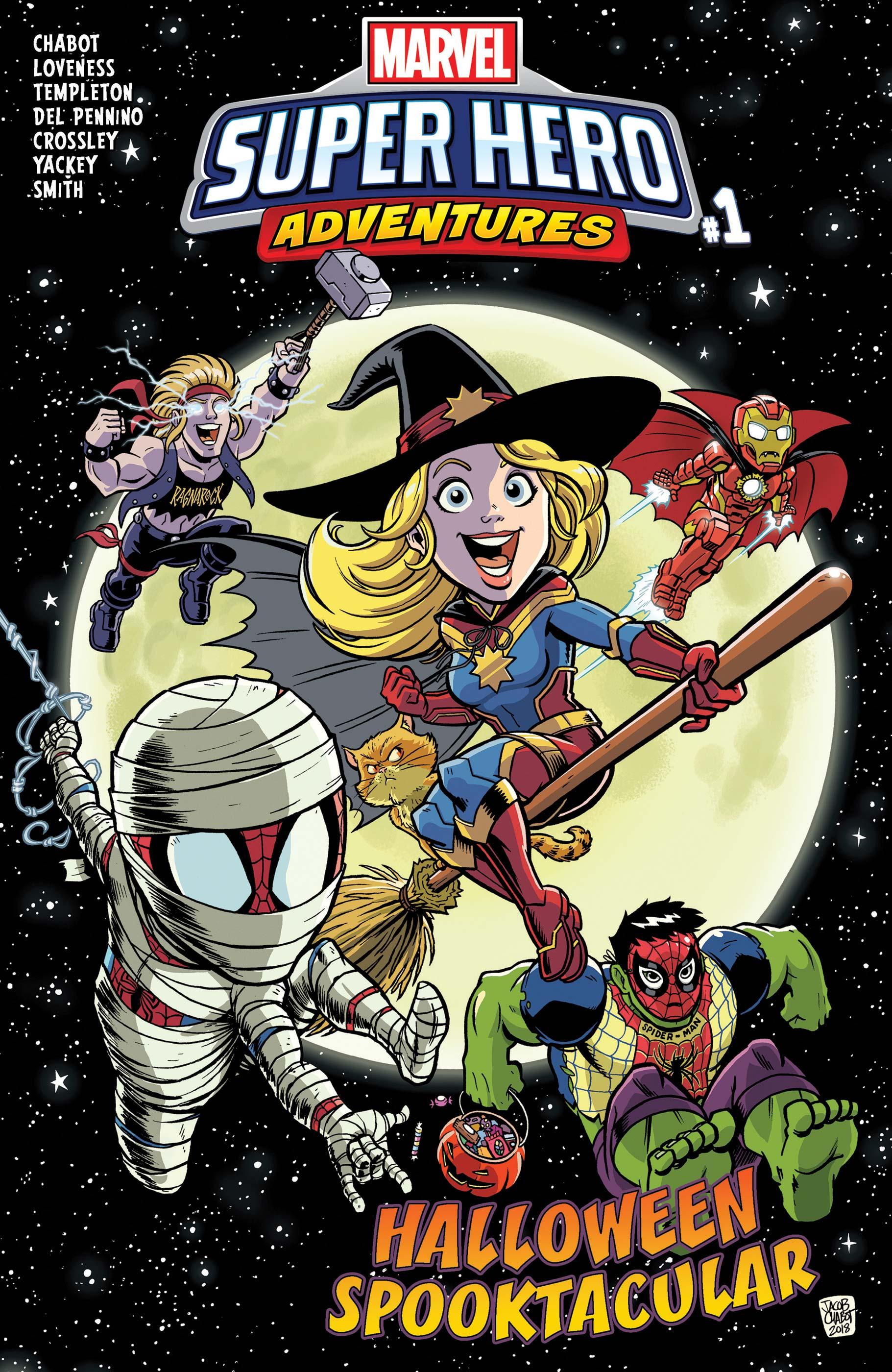 Marvel Super Hero Adventures: Captain Marvel - Halloween Spooktacular Vol 1 1