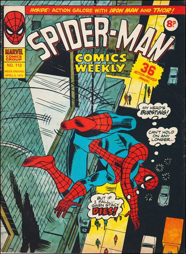 Spider-Man Comics Weekly Vol 1 112