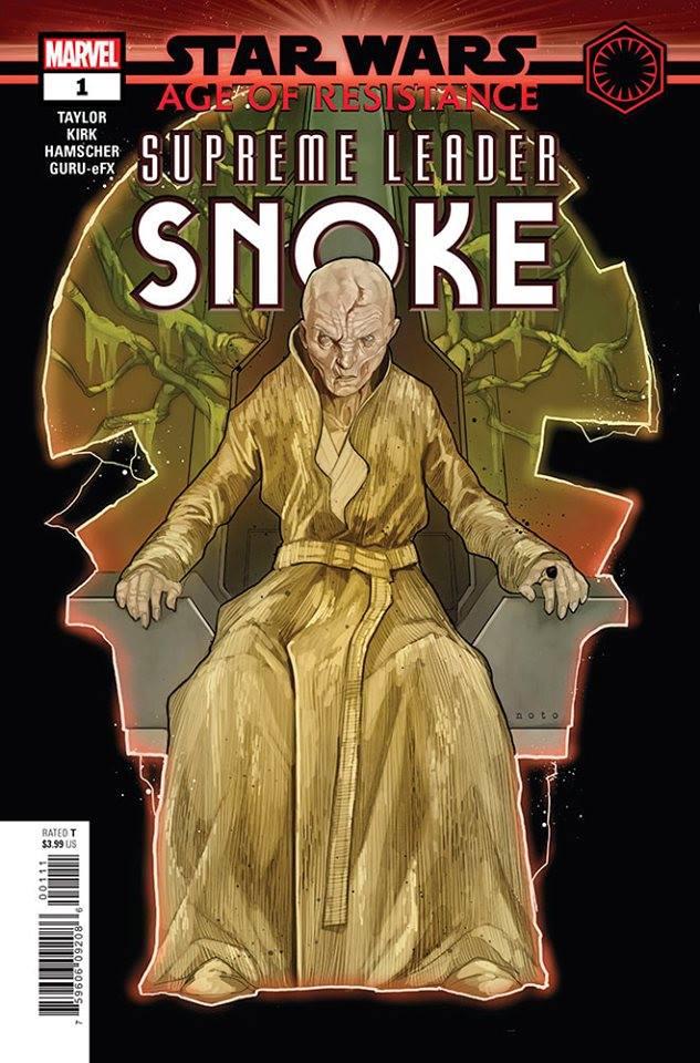 Star Wars: Age of Resistance - Supreme Leader Snoke Vol 1 1