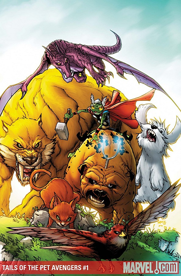 Tails of the Pet Avengers Vol 1 1
