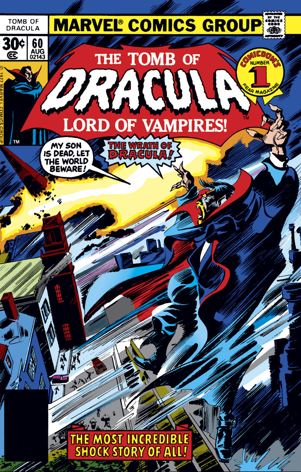 Tomb of Dracula Vol 1 60