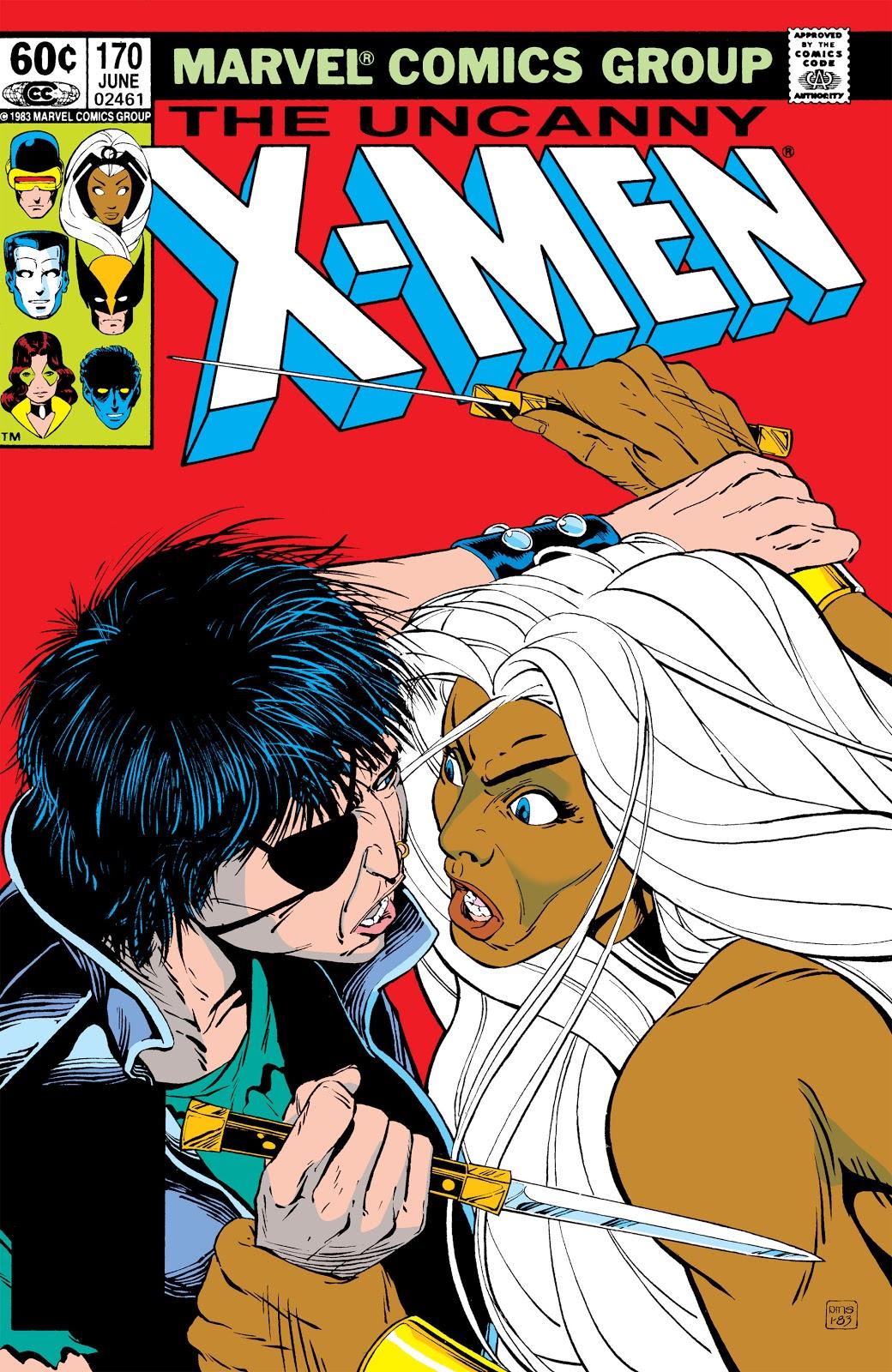 Uncanny X-Men Vol 1 170