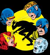 X-Men (Earth-616) from X-Men Vol 1 42 cover