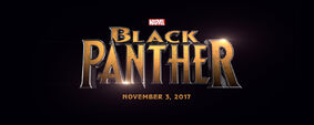 Black Panther (film) logo