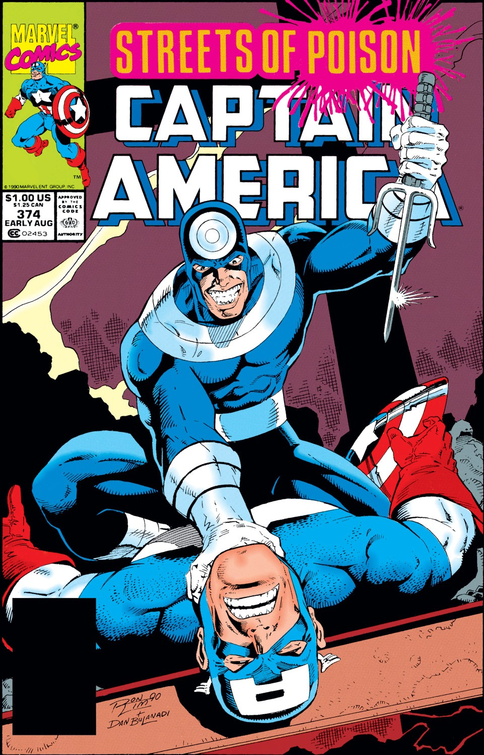 Captain America Vol 1 374