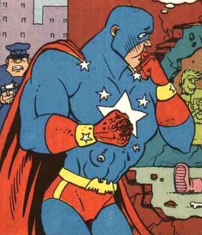 Captain Strongheart (Earth-9047)
