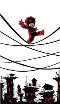 Daredevil Vol 4 1 Baby Variant Textless