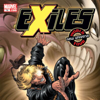 1ST PRINTING BAGGED /& BOARDED MARVEL COMICS EXILES #74 2006