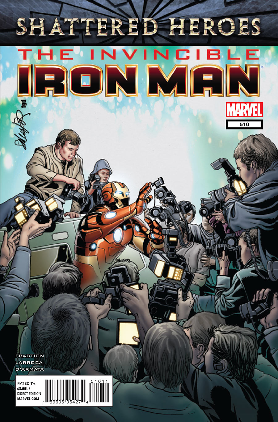 Invincible Iron Man Vol 1 510