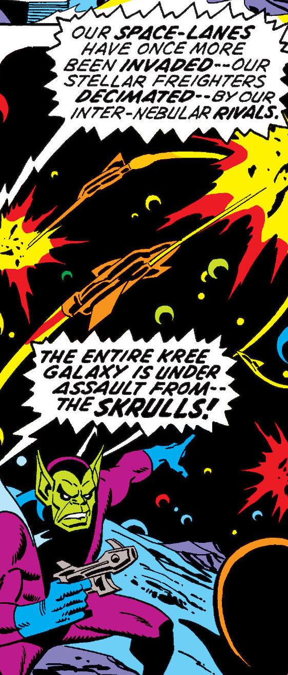 Kree-Skrull War/Gallery