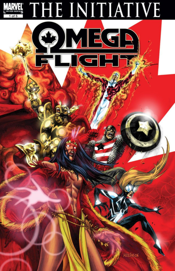 Omega Flight Vol 1 1