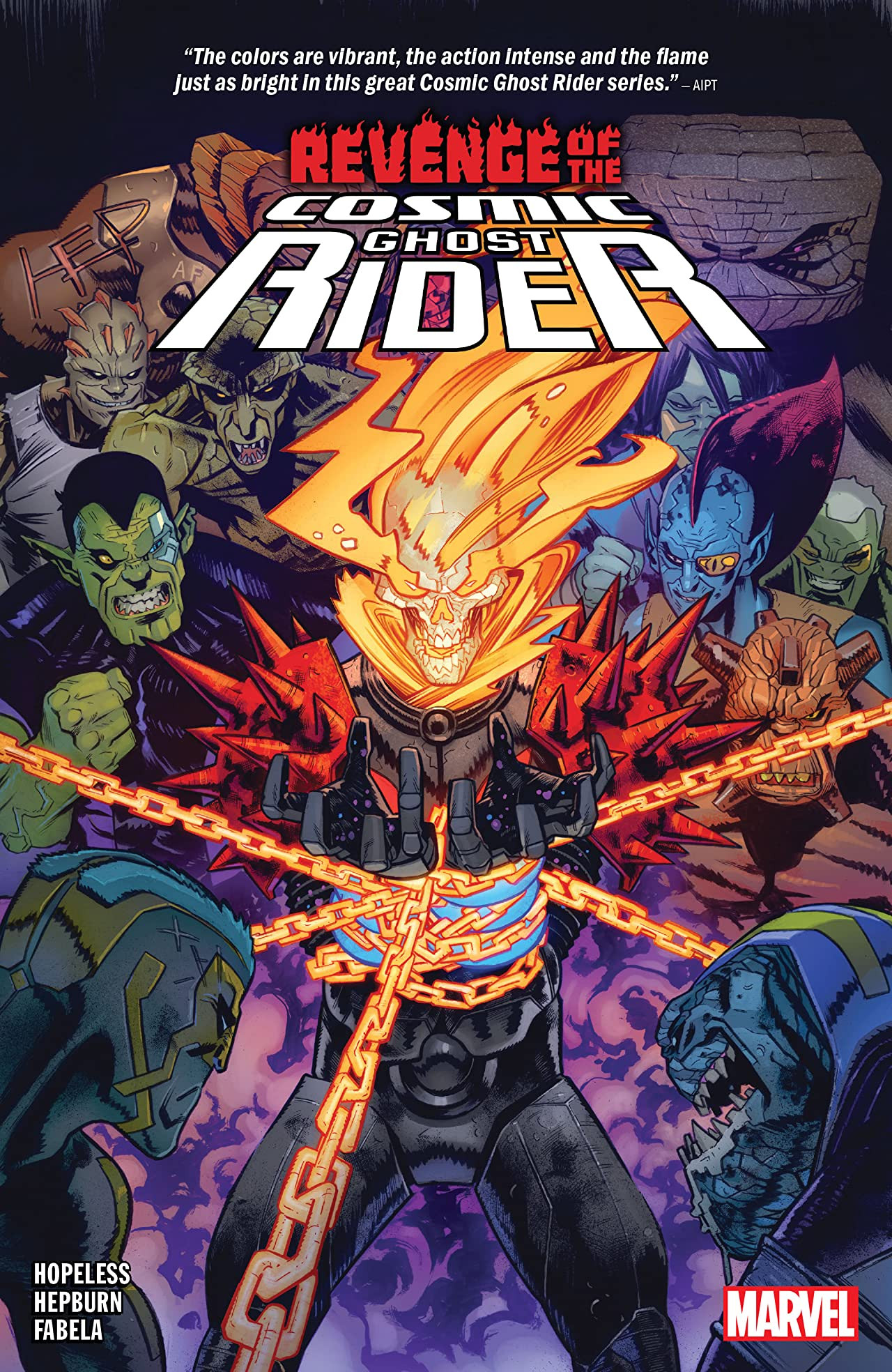 Revenge of the Cosmic Ghost Rider TPB Vol 1