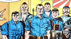 Samurai Squadron (Earth-616) from Capt. Savage and his Leatherneck Raiders Vol 1 2 001.jpg