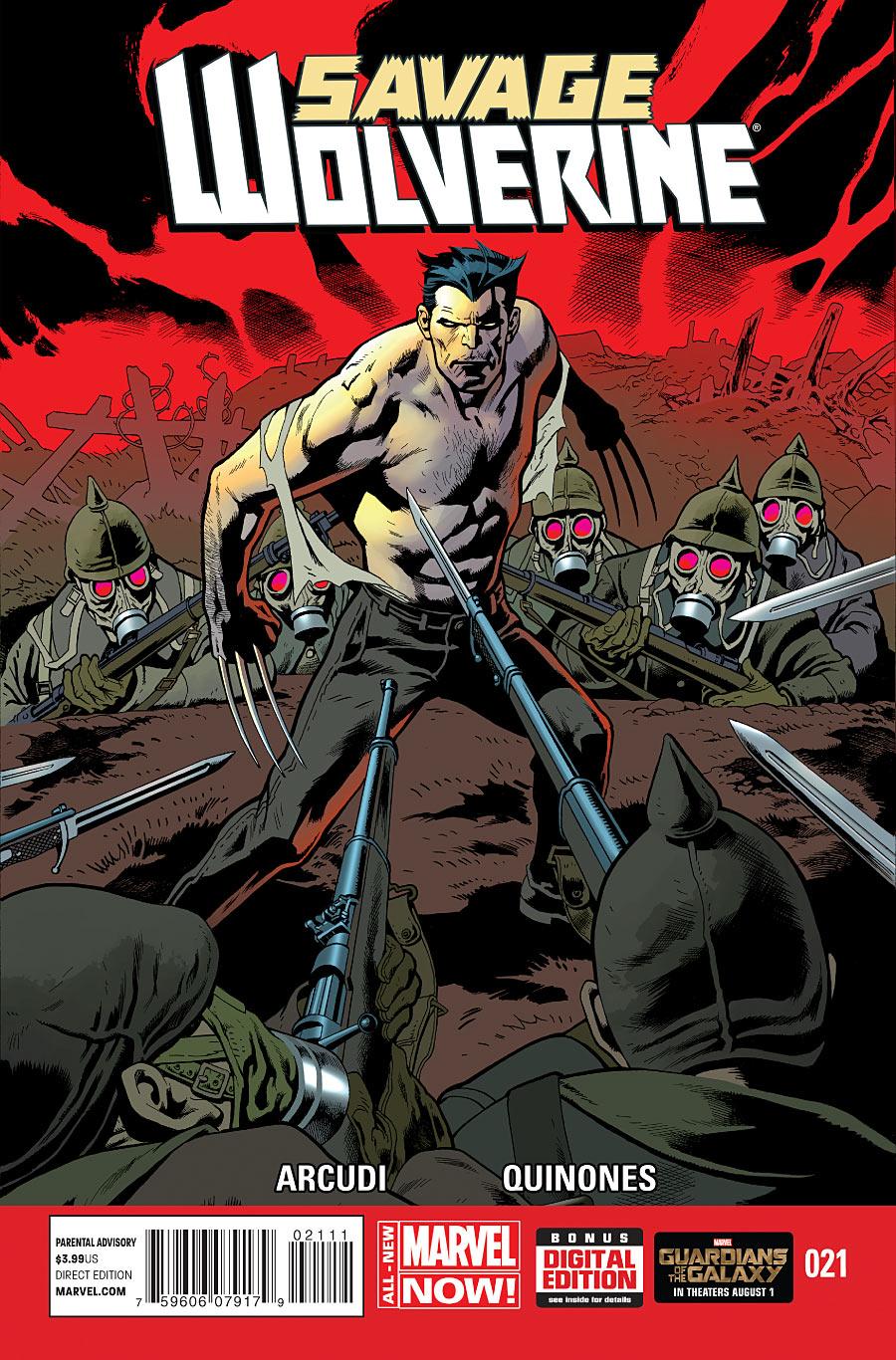 Savage Wolverine Vol 1 21