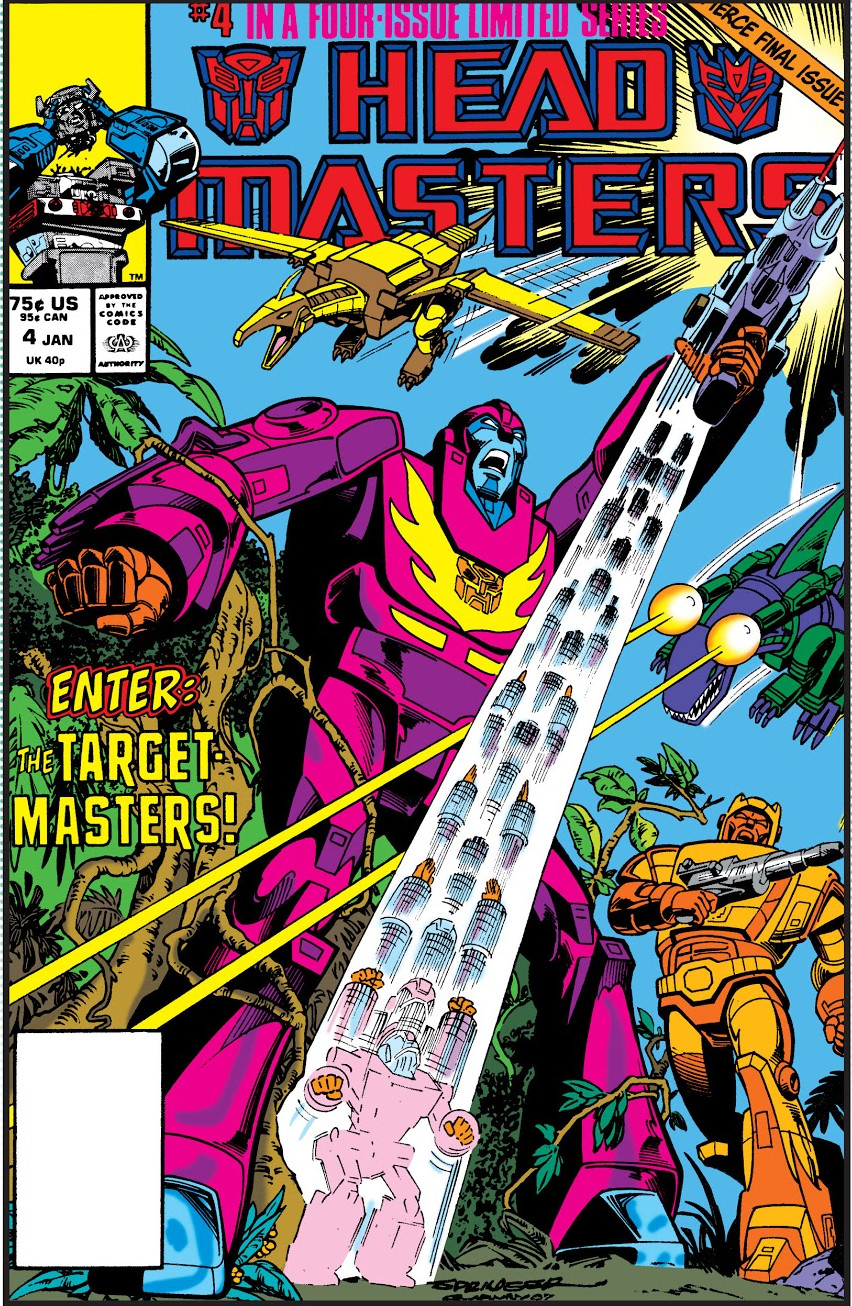 Transformers: Headmasters Vol 1 4