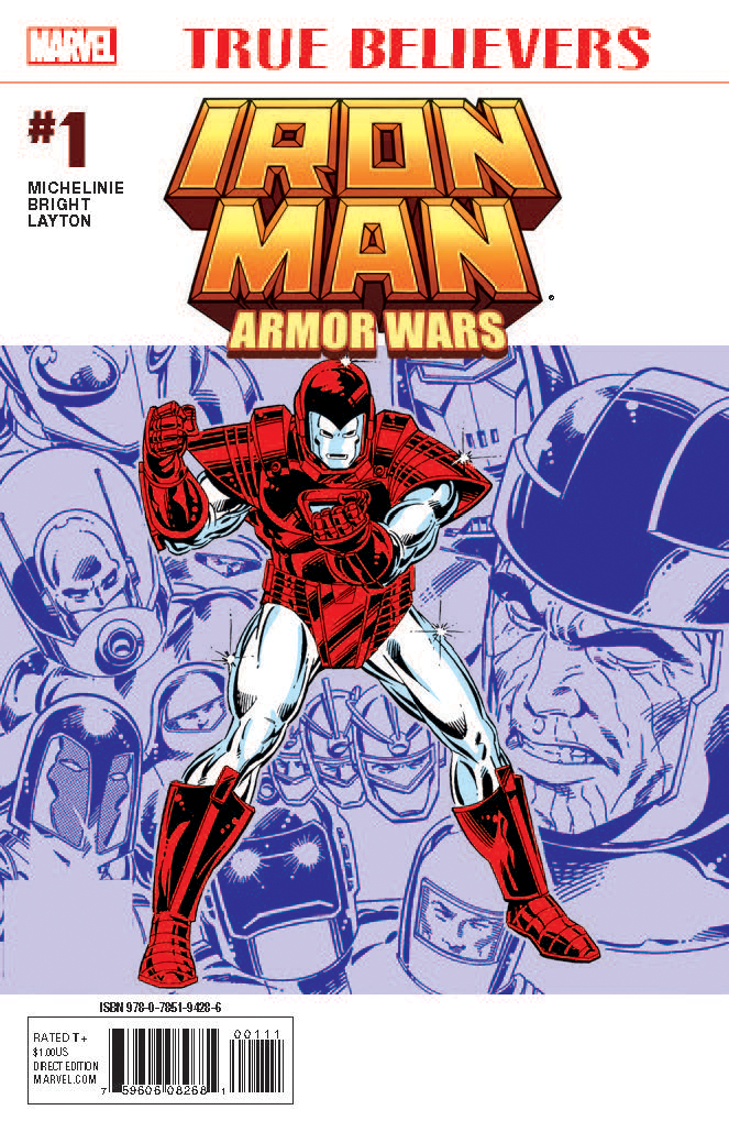 True Believers: Armor Wars Vol 1