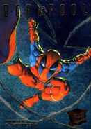 Wade Wilson (Earth-616) from Ultra X-Men (Trading Cards) 1995 Hunters & Stalkers 0001