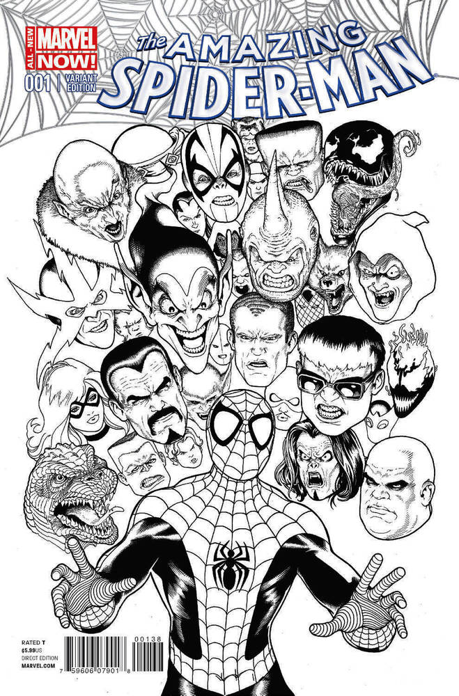 Amazing Spider-Man Vol 3 1 Maguire Sketch Variant.jpg