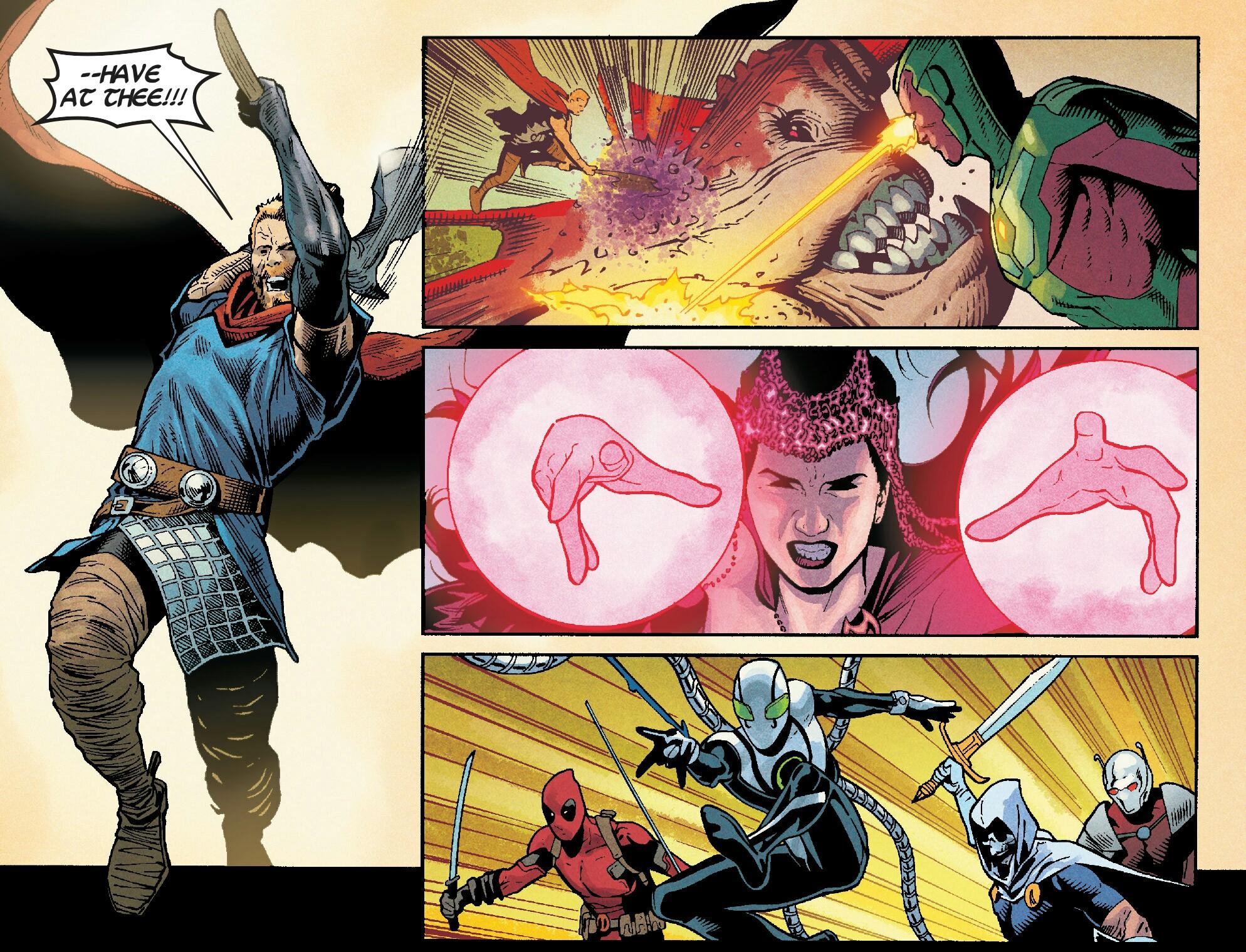 Avengers (Hydra) (Earth-616)/Gallery