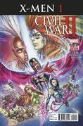 Civil War II X-Men Vol 1 1