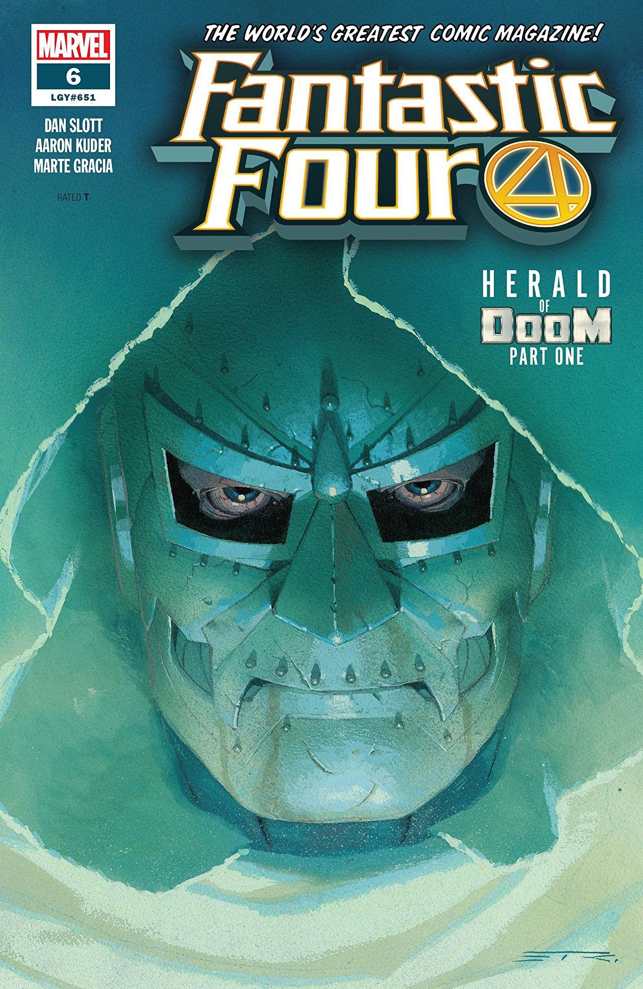 Fantastic Four Vol 6 6
