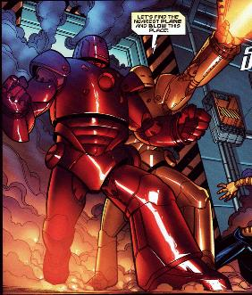 Iron Man Armor (Earth-20051)/Gallery