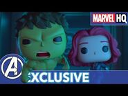 Marvel Funko Presents- Tick Tick Smash (starring Hulk & Black Widow) - EXCLUSIVE SHORT