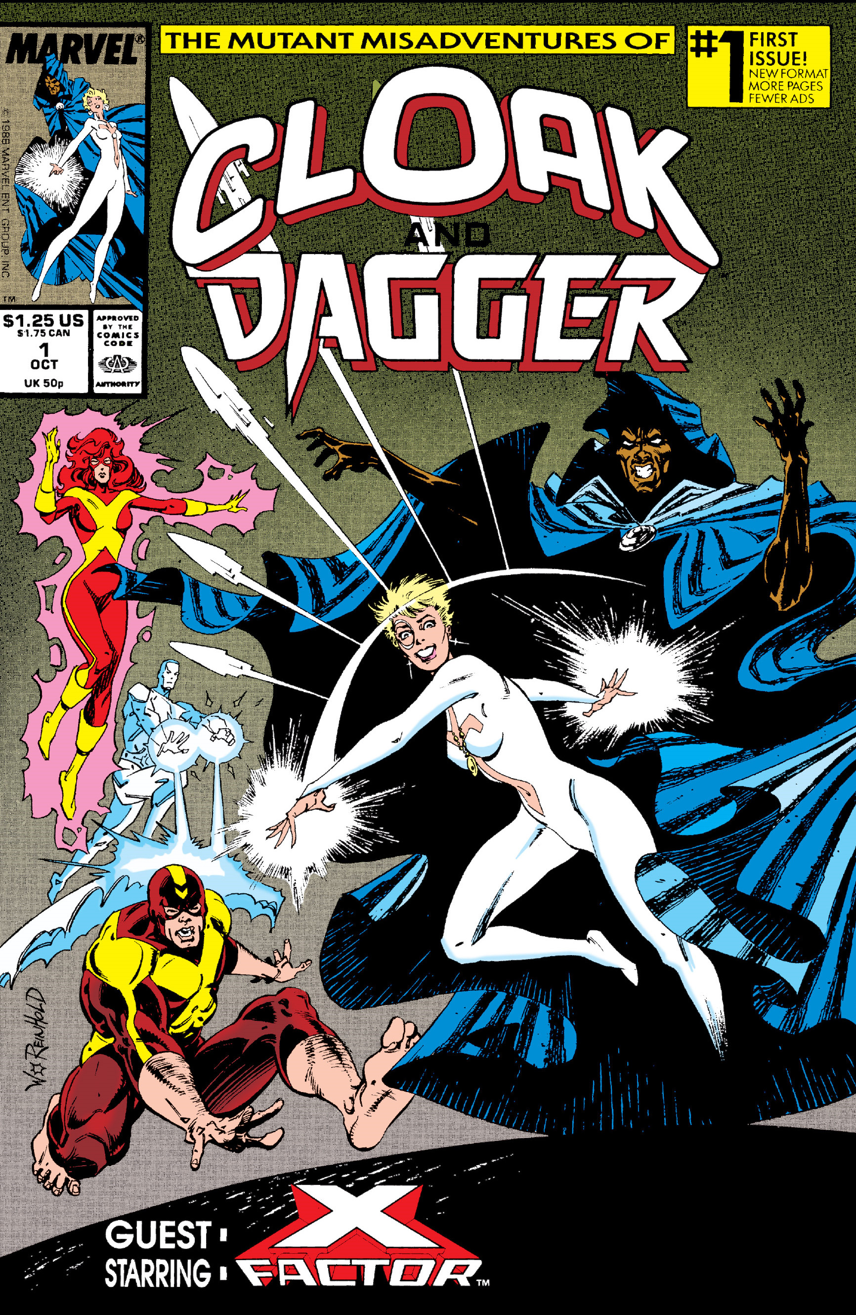 Mutant Misadventures of Cloak and Dagger Vol 1 1