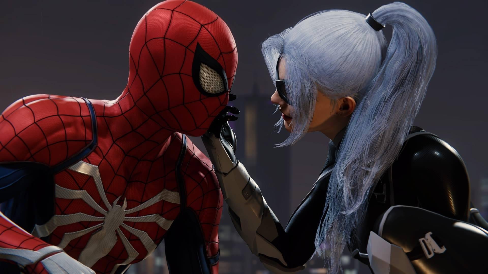 Peter Parker (Earth-1048) and Felicia Hardy (Earth-1048) from Marvel's Spider-Man (video game) 001.jpg