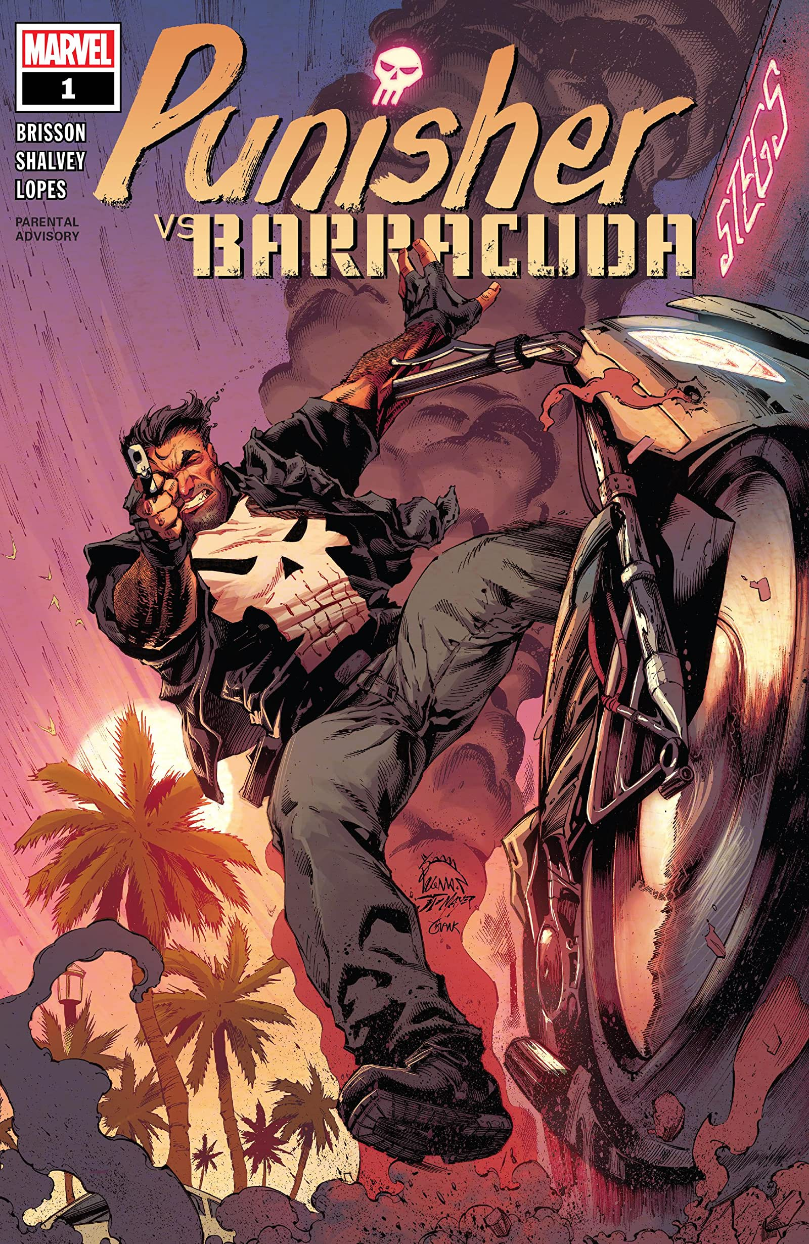 Punisher vs. Barracuda Vol 1