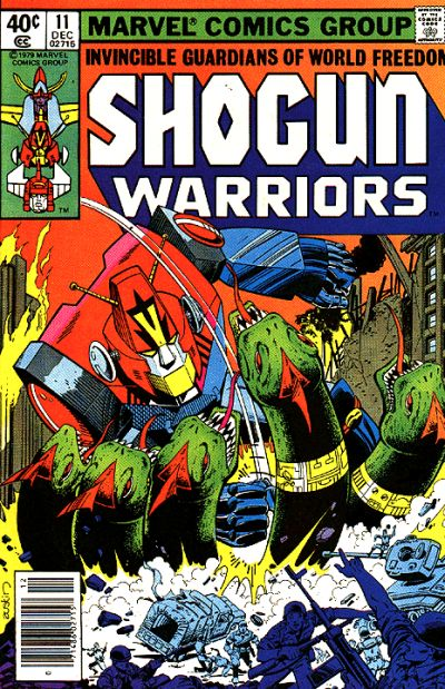 Shogun Warriors Vol 1 11