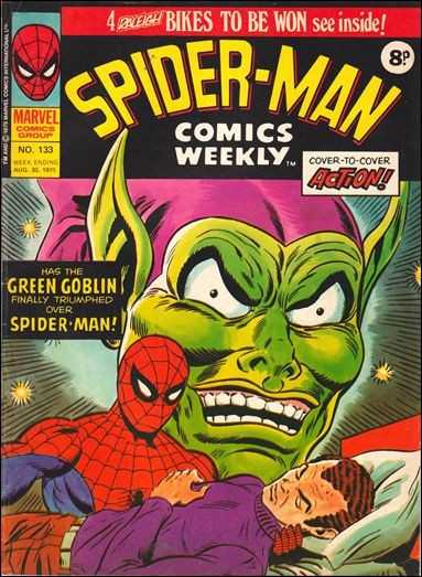 Spider-Man Comics Weekly Vol 1 133