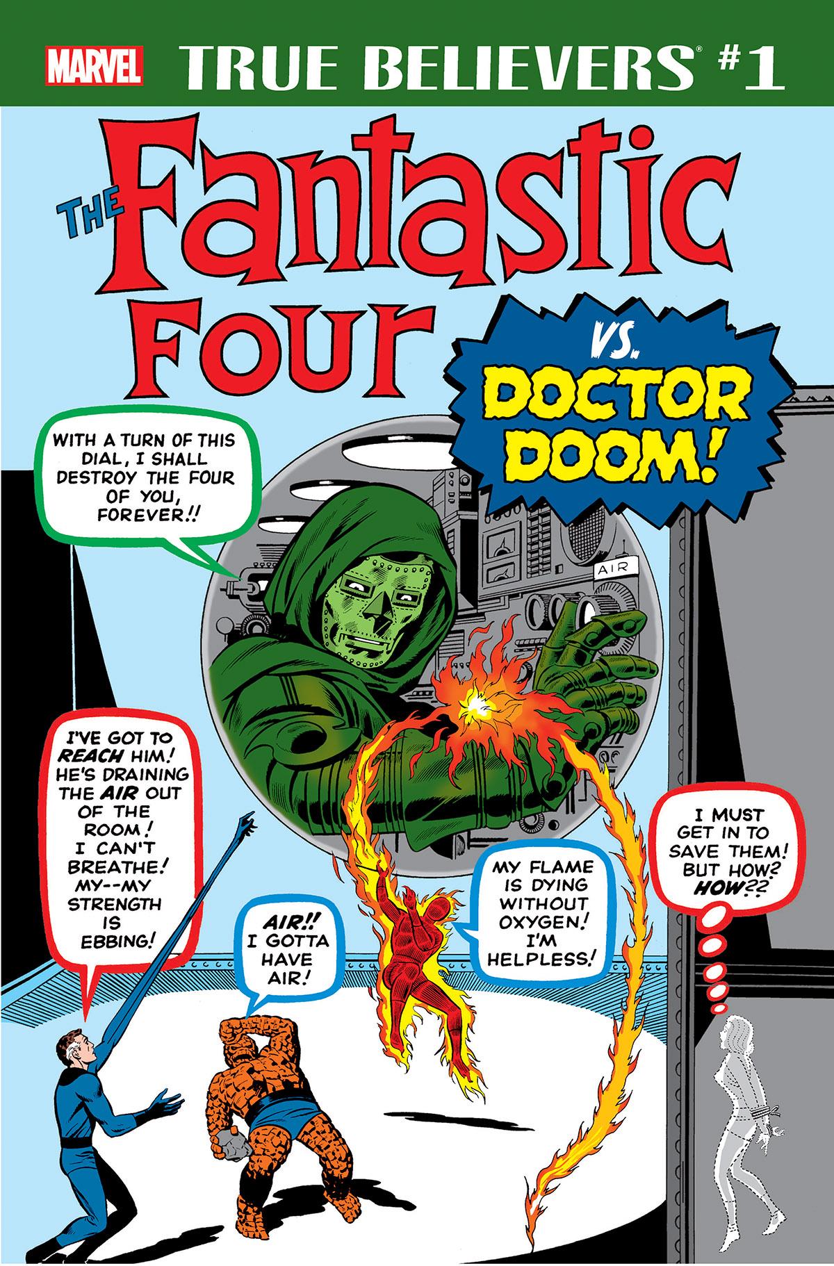 True Believers: Fantastic Four vs. Doctor Doom Vol 1 1