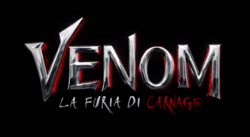 Venom Let There Be Carnage logo ita 001