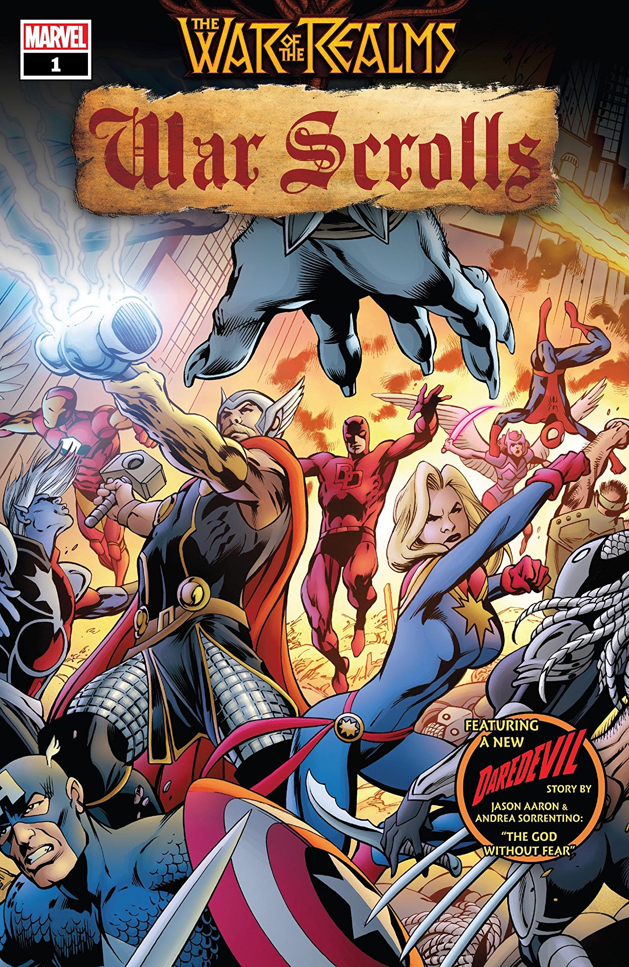 War of the Realms: War Scrolls Vol 1 1