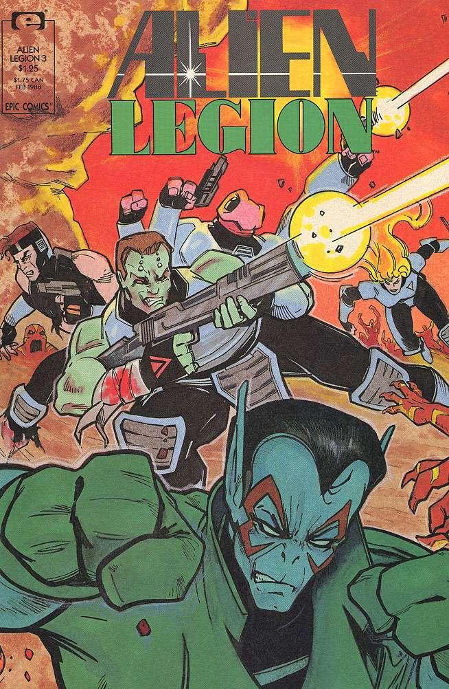 Alien Legion Vol 2 3