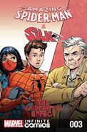 Amazing Spider-Man & Silk Spiderfly Effect Infinite Comic Vol 1 3