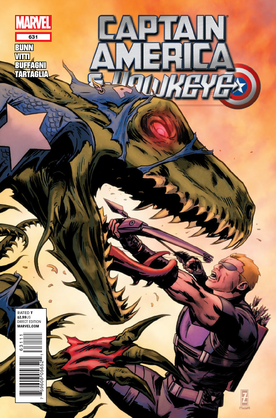 Captain America and Hawkeye Vol 1 631