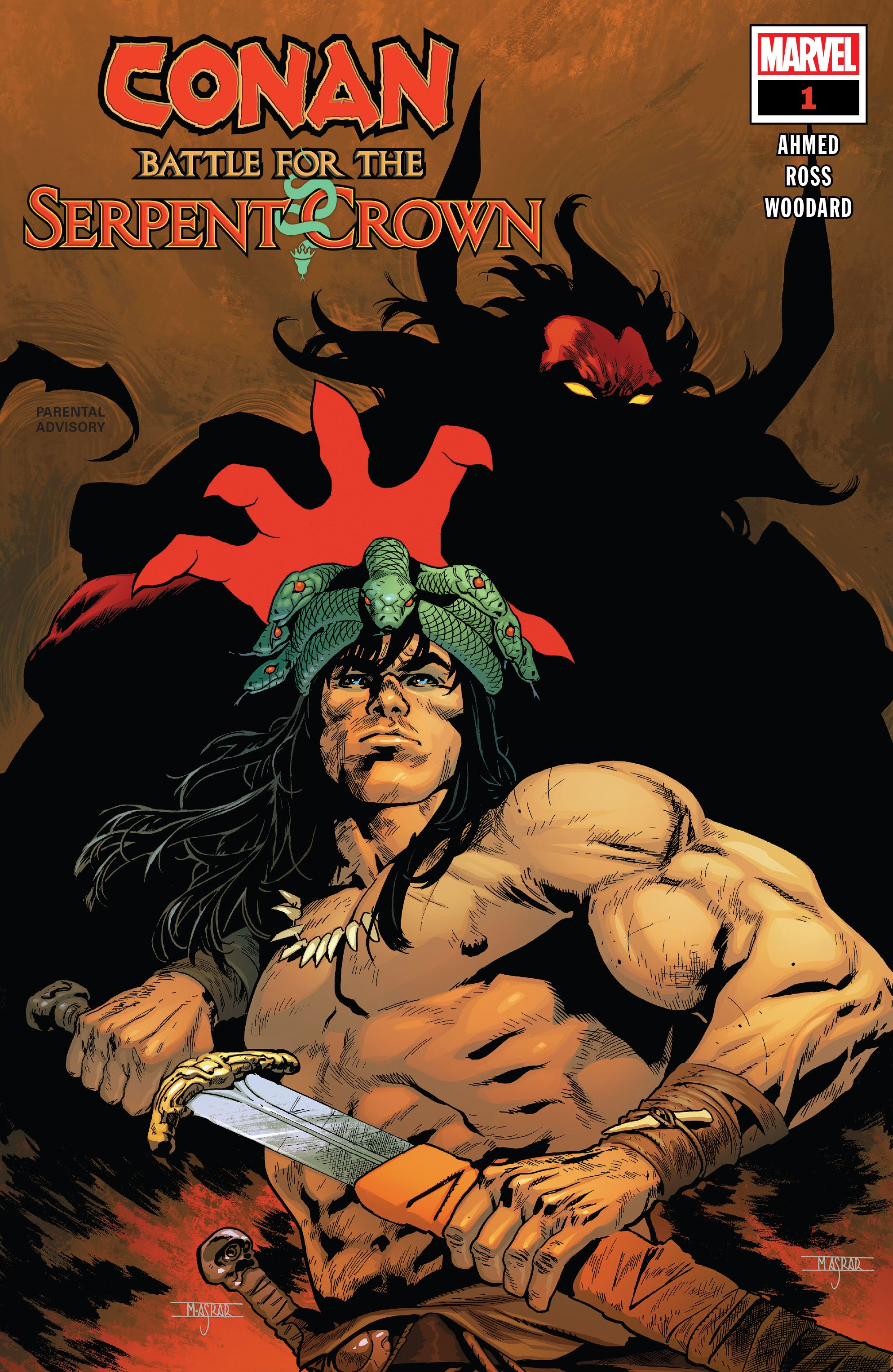Conan: Battle for the Serpent Crown Vol 1 1