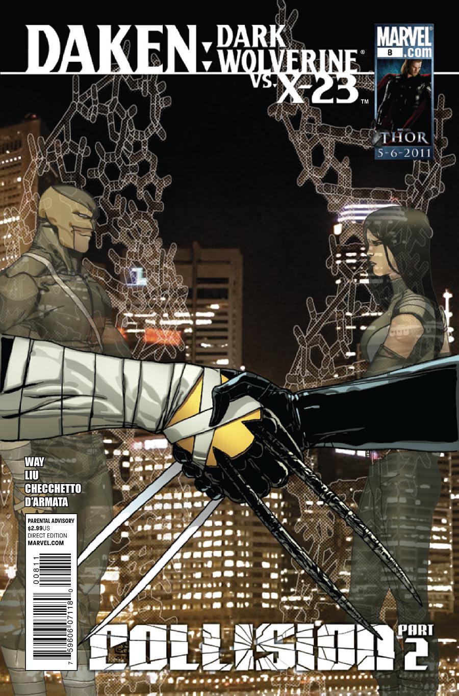 Daken: Dark Wolverine Vol 1 8