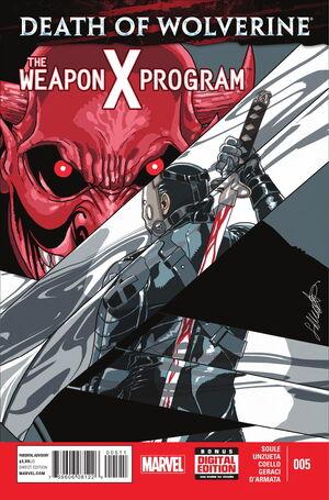 Death of Wolverine The Weapon X Program Vol 1 5.jpg