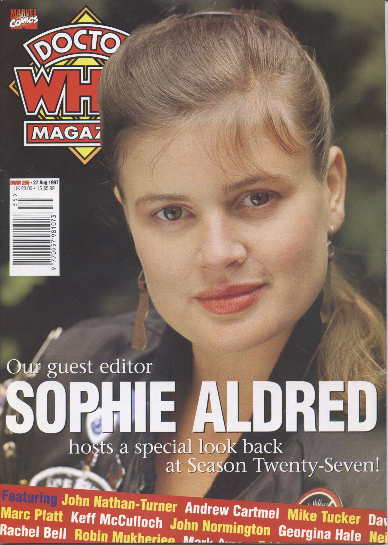 Doctor Who Magazine Vol 1 255