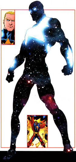 Genis-Vell (Earth-616) from All-New Official Handbook of the Marvel Universe A to Z Vol 1 8 001.jpg