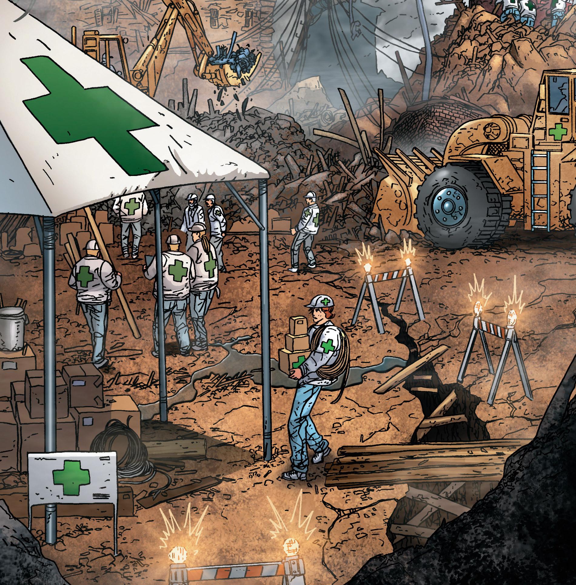 Green Cross (Earth-616)/Gallery