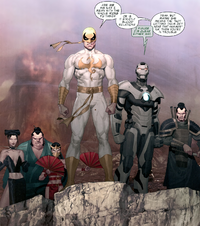 Immortal Weapons (Earth-616) Iron Man 2.0 Vol 1 6.png